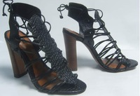 WS7 arezzo shoes new 2014 women high heel rasteirinhas sandals gladiator female cross tied casual shoes