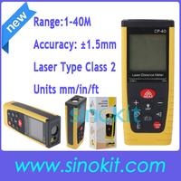 Free Shipping 40m Laser Distance Meter Rangefinder Tape Measure Tool Range Finder CP-40