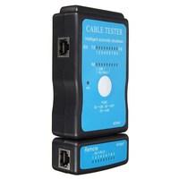 USB RJ-45 Cat5 RJ11 RJ12 Ethernet Network LAN Cable Tester Kit