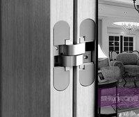concealed hinge for wood doors