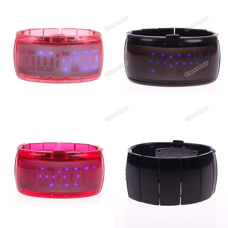 carroteer Best choice New Unisex Women Men Quartz LED Digital Sports Bracelet Jelly Wrist Watch Latest Style(China (Mainland))