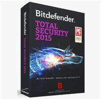 BitDefender BitDefender Total Security 2015 2015 activation key 2 years for 3pcs