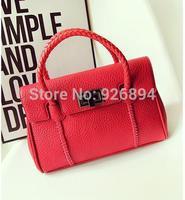 Free shipping fashion vintage British establishment popular casual high quality PU lether handbags shoulder bag messenger bag