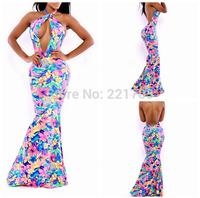 Summer Evening Dress 2014 Women Sexy Dress Casual Bandage Dress Vestidos for Ladies