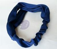 2015 NEW silky fabric crossing design korea style  fashion headband  elastic headband hairbands hair accessories