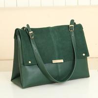 2013 women's bags handbag bags one shoulder fashion scrub women's genuine leather fashion handbag