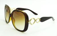 2014 new arrive women sunglasses big frame women's UVA/UVB poarlized sunglasses vintage retro women shades A17