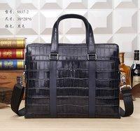 Designer Handbags High Quality Men Genuine Leather Handbags Bags Color Black Size W36H28D6 Model MY-M8829 DHL Free Shipping