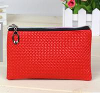 2014 the new mobile PU zero coin purse bag mobile phone bag  10pcs/lot
