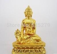 Metal Crafts Tibet Tibetan Buddhis shakyamuni bronze buddha statue 037 0.3 KG free shipping