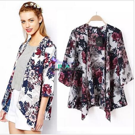 Женские блузки и Рубашки Brand new ropa camisas femininas Kimono Cardigan  женские блузки и рубашки kimono cardigan 2015