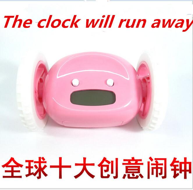 Running Alarm Clocks digital alarm clock Strange new gift wholesale free shipping(China (Mainland))
