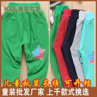 Autumn children's open file pants children's clothing children's pants 5 15 autumn