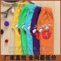 2014 children's clothing autumn 5 15 autumn net child long trousers