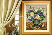 "Wall Home Decoration Cross Stitch Precision Printing ""Classical vase"" Cross-Stitch Kit , DIY Cross Stitch Sets"
