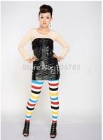 pencil pants women f  trousers new lady  skinny print pant   XT_002208  free shipping
