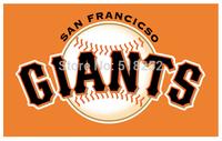 MLB San Francisco Giants Flag 3x5 FT 150X90CM Banner 100D Polyester flag 1033, free shipping