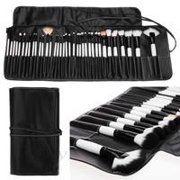 36Pcs Eyeshadow Powder Brush Set Cosmetic Makeup Brush Tool Kits with Black Leather Case SV05 SV012604