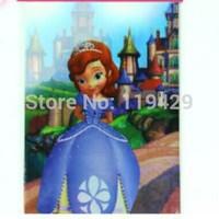 sofia  princess kid  girl baby happy birthday party decoration kits supplies favors girl princess table cloth 3pcs/lot