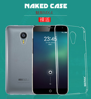 Original Bepak Brand Naked Series Anti-Scratch Hard Clear Back Case For MEIZU MX4 Freeshipping