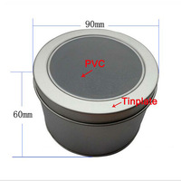 New Arrival Fashion Round Style Metal Watch/watch Storage Box Best Gift Cheap Box