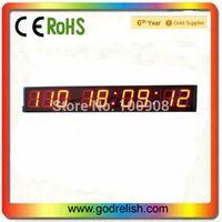 """Godrelish 4"""" Red Led Countdown clock 9 digital  wall clock led countdown timer"""