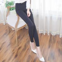 A780 new winter color double button legging fashionable slim nine feet pencil pants wholesale