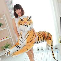 New Hot Fashion Simulation Tiger Stuffed Plush  Animal Toy Doll 50cm Cute Soft Xmas Gift For Children Quality Free shipping