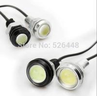 high-grade 2.3CM 10W Car 500-Lumen Waterproof Eagle Eye lights LED Daytime Running lights /Fog Lamps 12V Reverse Lights