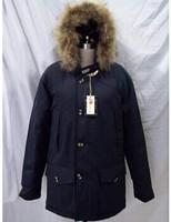 2014 Big Fur Brand New Mens Woolrich Goose Down Parka Winter Warm Jacket -40 degree