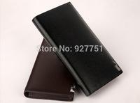 genuine leather wallets long design wallets  men wallet  la cartera