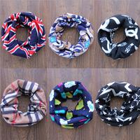 new Classic children's cotton scarf kids boy girl Ring Scarf Shawl Unisex Winter knitting Collar Neck Warmer desigual scarf