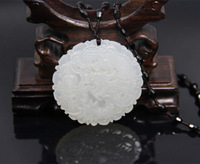 New-Hot-Details about 100% pure natural jade dragon pendant, ancient craft pendants, hand-carved