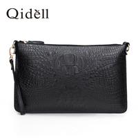 Genuine leather 2014 women's day clutch fashion for Crocodile large capacity clutch bag shoulder bag messenger bag