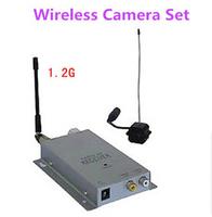 Clearence!New&Original 1/3 inch Color CMOS 380TVL line 1.2 G wireless Camera Set