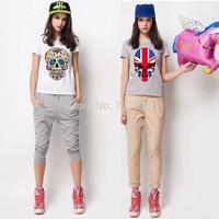 Fashion Skull Punk T Shirt Women Clothing Casual Woman Clothes Harajuku SKULL Tops Hip Hop