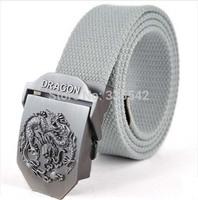 2014 Hot sale men belt thicken canvas military belt jeans belt Top quality men strap 16 colors 110 cm free shipping