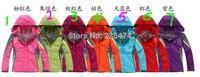 winter fashion women's outdoor windbreaker jacket removable two-piece triple Jackets warm waterproof ski jackets coat