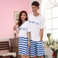 Couple Pyjamas  Ladies Men Pyjamas cotton nightwear Lingerie Pajama pants suit pyjamas onesie tracksuit