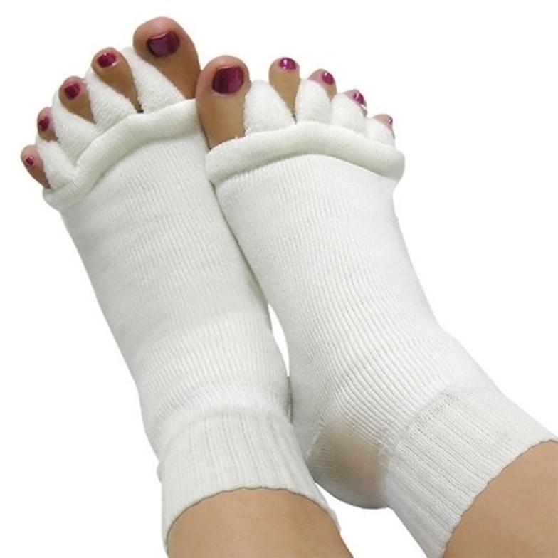 Массажер Unbranded 1 L033545 Yoga GYM Massage Five Toe Separator Socks solomeya разделители для пальцев розовые пара toe separator