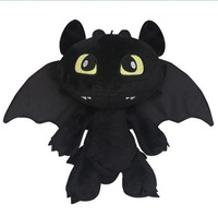 How to Train Your Dragon 2 Toothless Plush Toys Cute Stuffed Toys for Children 20cm or 30cm Baby Doll Best Christmas Gifts