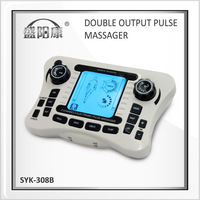 2014 health care lymphatic massage electric massage  health care Acupuncture dual output Dual channel digital pulse therapy