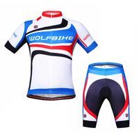 WOLFBIKE Sportswear Mountain Bike Ropa Ciclismo Bicycle Wear Cycling Jersey clothing Shirt+Shorts sets