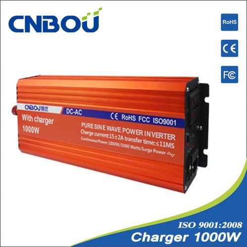 24V 220V 50HZ 1000W off grid inverter with charger(China (Mainland))