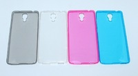 1pcs/lot Waterproof seal transparent soft phone back cover house Case for Xiaomi M4 MI4.free shipping