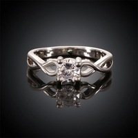 Free shipping! Newest simple engagement couple rings, vogue jewelry wedding rings USR620