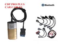 New 2014.1 version Bluetooth Version TCS CDP Pro plus (B) Diagnostic tool + car cables