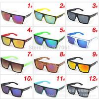 Hot fashion Women Men Sunglasses Retro Stylish Designer Vintage Shades Glasses-12 Colors
