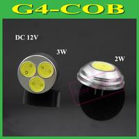 Ultra Brightness G4 COB 2W 3W LED Crystal Chandelier DC 12V 1LEDs 3LEDs Lamps LED Pendant Light,1Pcs