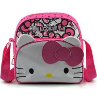 2015 Newly Messenger Bag for Women Lovely Cartoon Design Shoulder bag Hello Kitty Casual Satchel Girls Sling Bags Canvas Fabric